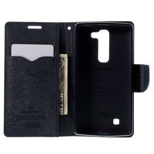 Diary PU kožené pouzdro na LG G4c - fialové - 6