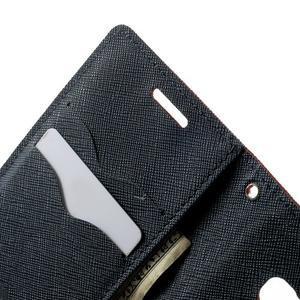 Diary PU kožené pouzdro na Samsung Galaxy A3 - červené - 6