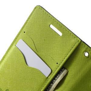 Diary PU kožené pouzdro na Samsung Galaxy A3 - tmavěmodré - 6