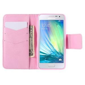 Pouzdro na mobil Samsung Galaxy A3 - ptáček v kleci - 6