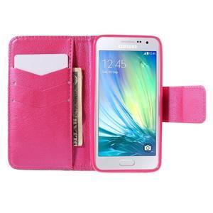Pouzdro na mobil Samsung Galaxy A3 - červené srdíčko - 6