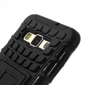Outdoor odolný kryt na mobil Samsung Galaxy A3 - černý - 6