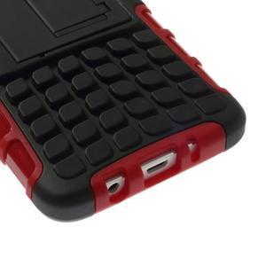 Outdoor odolný kryt na mobil Samsung Galaxy A3 - červený - 6
