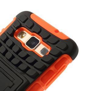 Outdoor odolný kryt na mobil Samsung Galaxy A3 - oranžový - 6