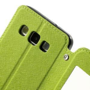 Roar peněženkové pouzdro s okýnkem na Samsung Galaxy A3 - zelené - 6