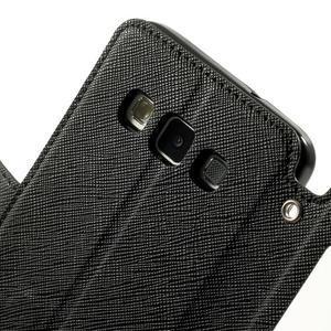 Roar peněženkové pouzdro s okýnkem na Samsung Galaxy A3 - černé - 6