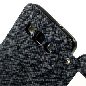Roar peněženkové pouzdro s okýnkem na Samsung Galaxy A3 - tmavěmodré - 6