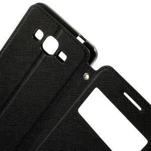 Safety pouzdro s okýnkem pro Samsung Galaxy Grand Prime - černé - 6