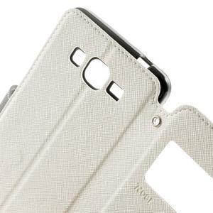 Safety pouzdro s okýnkem pro Samsung Galaxy Grand Prime - bílé - 6