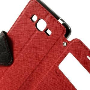 Safety pouzdro s okýnkem pro Samsung Galaxy Grand Prime - červené - 6