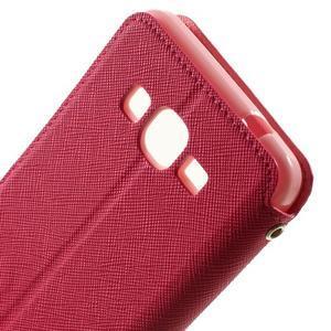 Safety pouzdro s okýnkem pro Samsung Galaxy Grand Prime - rose - 6