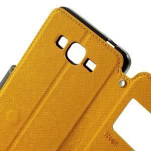 Safety pouzdro s okýnkem pro Samsung Galaxy Grand Prime - žluté - 6