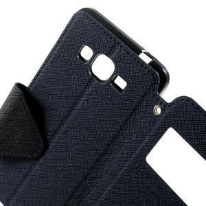 Safety pouzdro s okýnkem pro Samsung Galaxy Grand Prime - tmavěmodré - 6