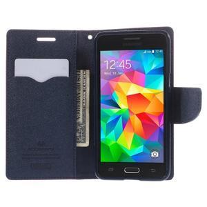 Diary PU kožené pouzdro na mobil Samsung Galaxy Grand Prime - rose - 6