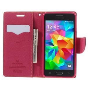 Diary PU kožené pouzdro na mobil Samsung Galaxy Grand Prime - žluté - 6
