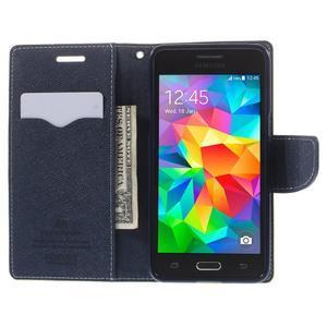 Diary PU kožené pouzdro na mobil Samsung Galaxy Grand Prime - zelené - 6