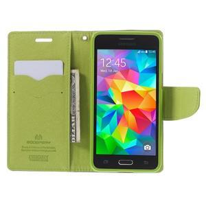 Diary PU kožené pouzdro na mobil Samsung Galaxy Grand Prime - tmavěmodré - 6