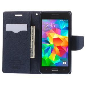 Diary PU kožené pouzdro na mobil Samsung Galaxy Grand Prime - fialové - 6