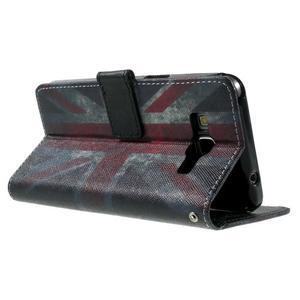 Wallet PU kožené pouzdro na mobil Samsung Galaxy Grand Prime - UK vlajka - 6