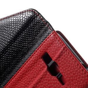 Writes elegantní pouzdro na Samsung Galaxy Grand Prime - červené - 6