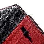 Writes elegantní pouzdro na Samsung Galaxy Grand Prime - červené - 6/7