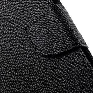 Diary stylové peněženkové pouzdro na Samsung Galaxy J5 - černé - 6