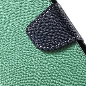 Diary stylové peněženkové pouzdro na Samsung Galaxy J5 - azurové - 6