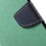 Diary stylové peněženkové pouzdro na Samsung Galaxy J5 - azurové - 6/7
