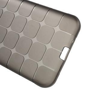 Square matný gelový obal na Samsung Galaxy J5 - šedý - 6
