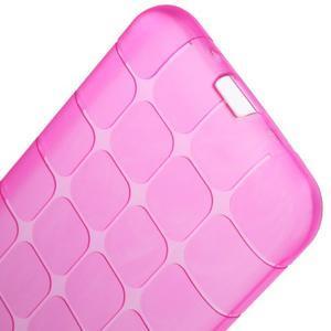 Square matný gelový obal na Samsung Galaxy J5 - rose - 6