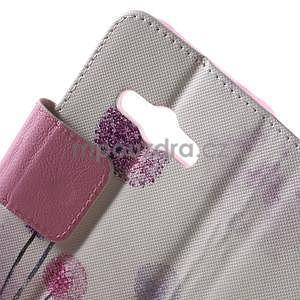 Vzorové peněženkové pouzdro na Samsung Galaxy Xcover 3 - pampeliška I - 6