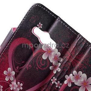 Vzorové peněženkové pouzdro na Samsung Galaxy Xcover 3 - srdce - 6