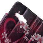 Vzorové peněženkové pouzdro na Samsung Galaxy Xcover 3 - srdce - 6/7