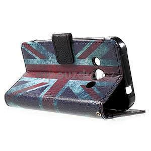 Stylové peněženkové pouzdro pro Samsung Galaxy Xcover 3 - UK vlajka - 6