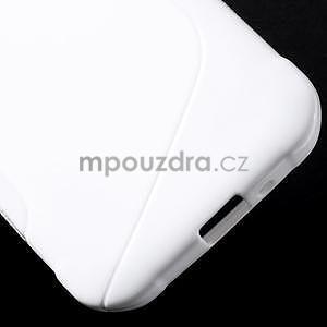 S-line gelový obal na Samsung Galaxy Xcover 3 - bílý - 6