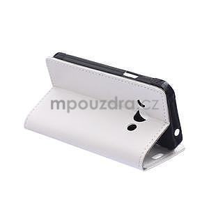 Bílé koženkové pouzdro Samsung Galaxy Xcover 3 - 6