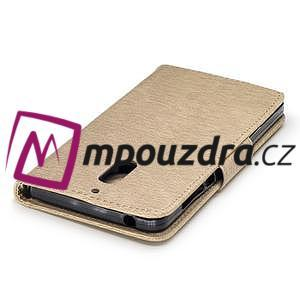 BadBeer peněženkové pouzdro na Nokia 6 - champagne - 6
