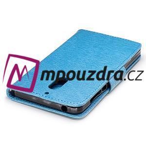 BadBeer peněženkové pouzdro na Nokia 6 - světlemodré - 6