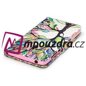 Emotive PU kožené pouzdro na mobil Nokia 6 - malovaný strom - 6