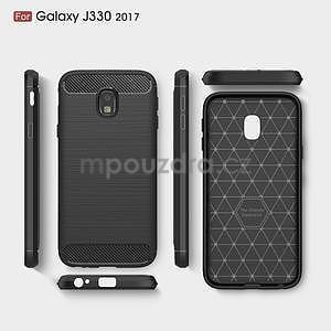 Carbo odolný obal na mobil Samsung Galaxy J3 (2017) - šedý - 6