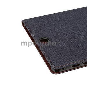 Jeans pouzdro na tablet Samsung Galaxy Tab A 9.7 - černomodré - 6