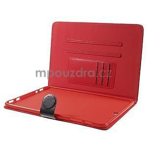 Flatense stylové pouzdro pro Samsung Galaxy Tab S2 9.7 - červené - 6