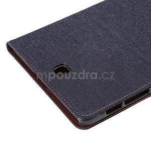 Jeans pouzdro na tablet Samsung Galaxy Tab S2 9.7 - černomodré - 6