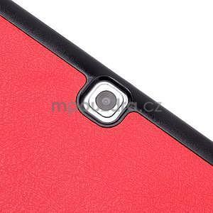 Trifold polohovatelné pouzdro na Samsung Galaxy Tab S2 9.7 - červené - 6