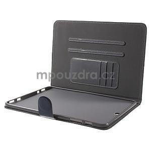 Flatense stylové pouzdro pro Samsung Galaxy Tab S2 9.7 - šedé - 6