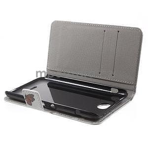Peněženkové pouzdro na Sony Xperia E4 - barevní motýlci - 6