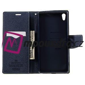 Diary PU kožené pouzdro na mobil Sony Xperia XA Ultra - zelené - 6