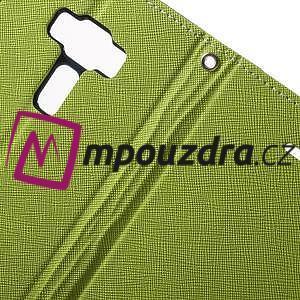 Diary PU kožené pouzdro na mobil Asus Zenfone 3 Deluxe - zelené - 6