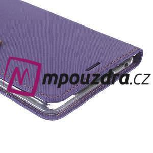 Diary peněženkové pouzdro na mobil Asus Zenfone 3 Ultra - fialové - 6
