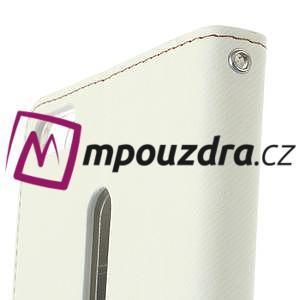 Diary peněženkové pouzdro na mobil Asus Zenfone 3 Ultra - bílé - 6